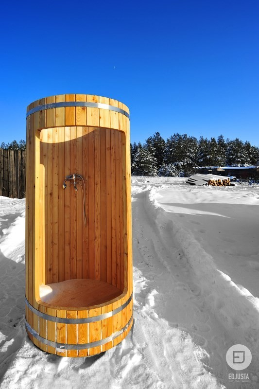 Gallery Of Wooden Shower Cabins